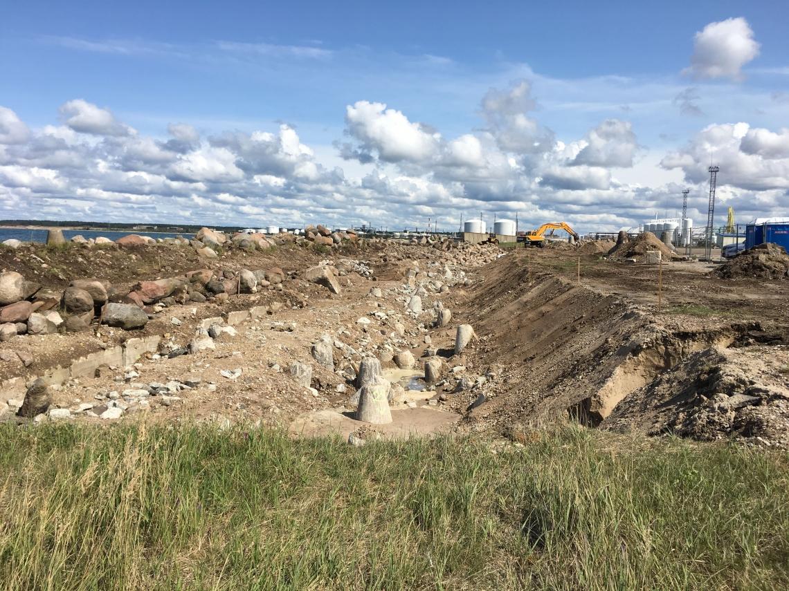 Ventspils brīvostas Ziemeļu mola atjaunošanas autoruzraudzība